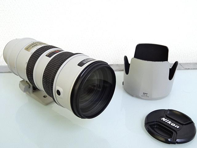 NIKON AF-S VR-NIKKOR 70-200mm 買取81,000円