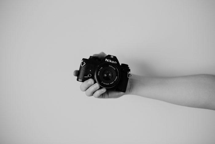 Nikonのカメラの写真