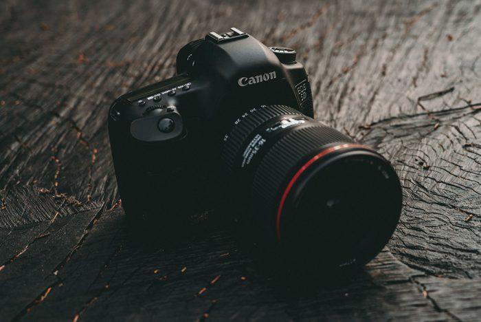 Canonのカメラの写真