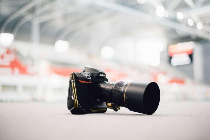 Nikonのカメラ写真