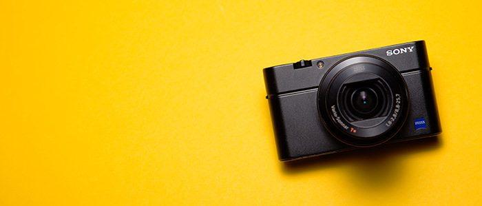 コンパクトカメラの写真