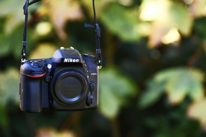 Nikonのカメラ